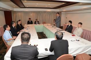 連合沖縄との意見交換会