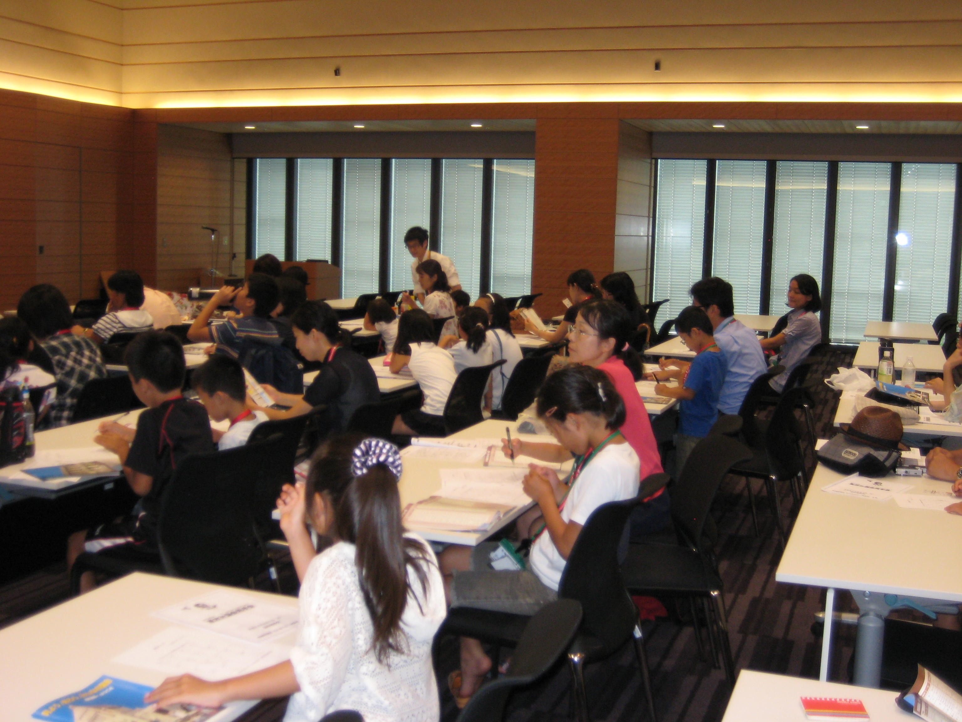 2012年親子国会見学会